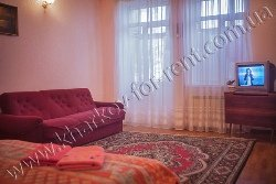 Rent this apartment in Kharkov: № 9 - 27 Otakara Jarosha str., Lenina Ave.